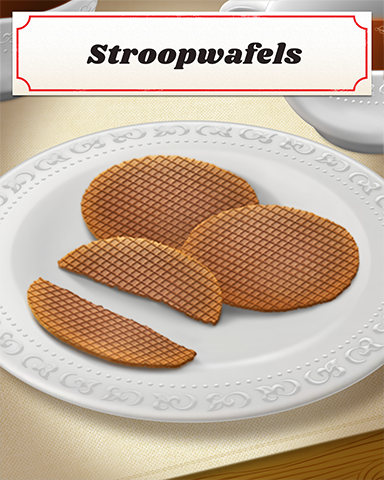 Stroopwafels Badge - Poppit! Sprint
