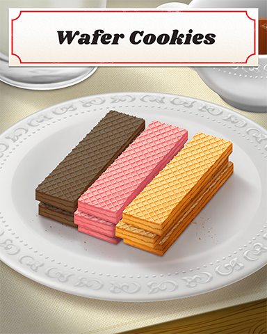 Wafer Cookies Badge - Pogo Daily Sudoku