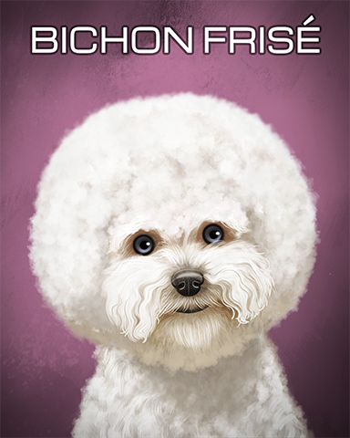 Bichon Frise Badge - Sweet Tooth Town