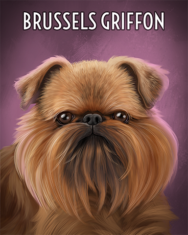 Brussels Griffon Badge - Payday FreeCell