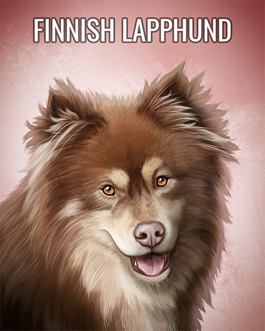Finnish Lapphund Badge - Poppit! Party