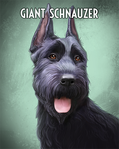 Giant Schnauzer Badge - Tri-Peaks Solitaire HD
