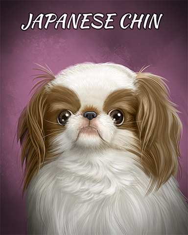 Japanese Chin Badge - Canasta HD