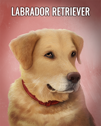 Labrador Retriever Badge - Sweet Tooth Town