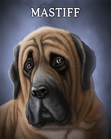Mastiff Badge - Aces Up! HD