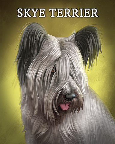 Skye Terrier Badge - Grub Crawl