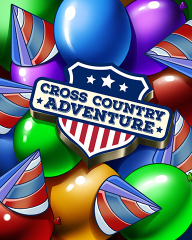 Pogo Cross Country Party Badge