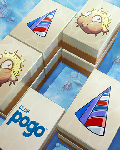 Pogo Pool Party Badge