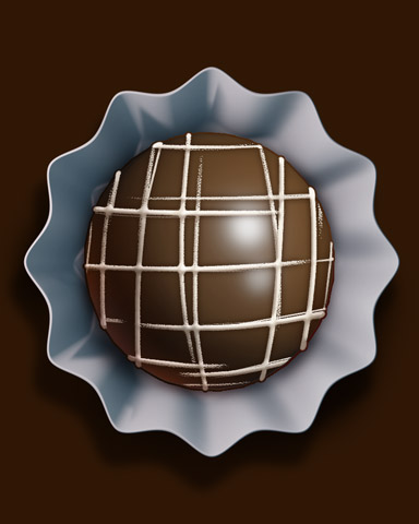 Marshmallow Cream Badge - World Class Solitaire HD