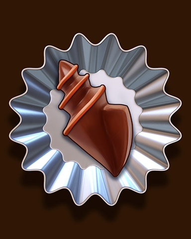 Shell-licious Sweet Badge - Crossword Cove HD