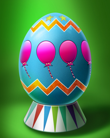 Balloon Egg Badge - Poppit!™ HD