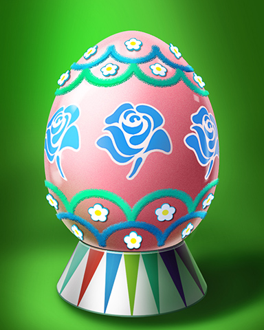 Blue Rose Egg Badge - StoryQuest
