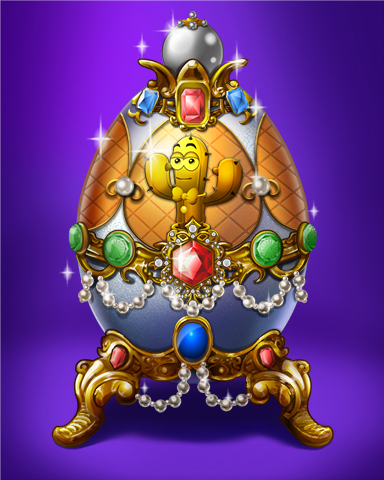Spike Golden Egg Badge - Sweet Tooth Town