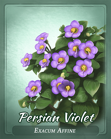Persian Violet Badge - World Class Solitaire HD