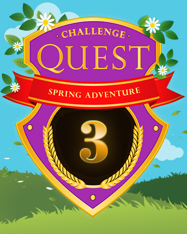Spring Adventure Week 3 Badge - Pogo Daily Sudoku