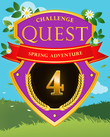 Spring Adventure Week 4 Badge - Quinn's Aquarium