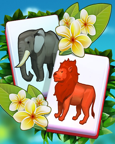 Spring Safari Badge - Mahjong Safari HD
