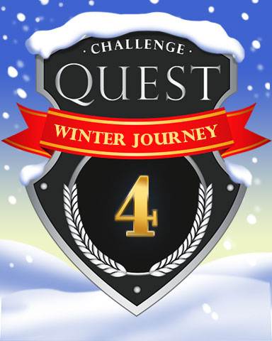 2020 Winter Journey Week 4 Badge - Mahjong Sanctuary