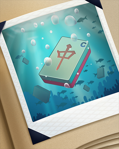Sinking Tile Badge - Quinn's Aquarium