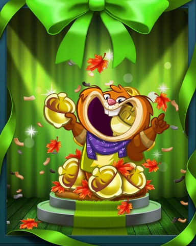 Autumn Nights Badge - Peggle Blast HD