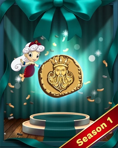 Poseidon Power Badge - Solitaire Blitz