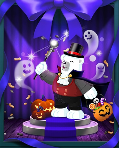 Beach Spook-tacular Badge - Snowbird Solitaire