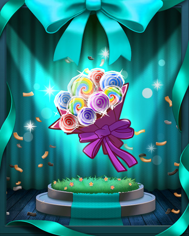 Sweet Spring Bouquet Badge - Sweet Tooth Town