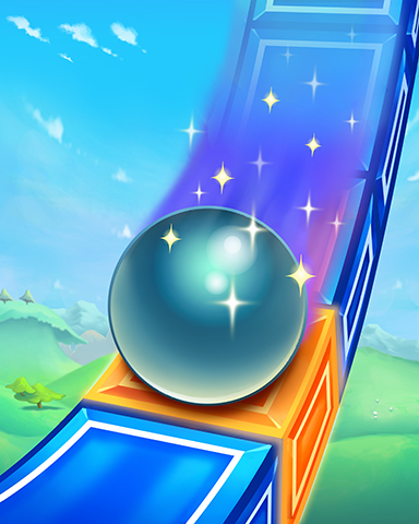 Perfect Slide Badge - Peggle Blast HD