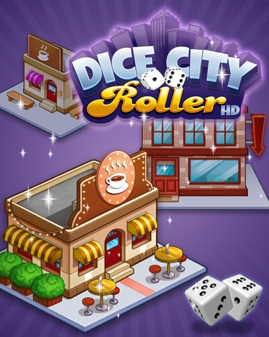 City Coffee Shop Badge - Dice City Roller HD