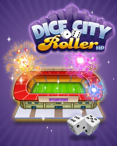 City Stadium Badge - Dice City Roller HD