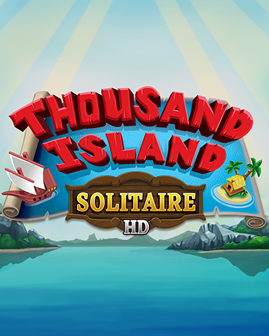 Welcome To Thousand Island Badge - Thousand Island Solitaire HD