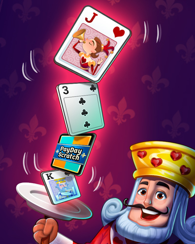 King Of Balance Badge - Payday Freecell HD
