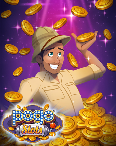 Tex's Jackpot Badge - Pogo™ Slots