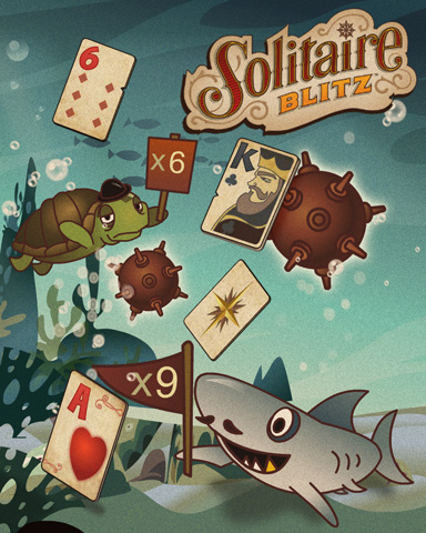 Solitaire At Sea Badge - Solitaire Blitz