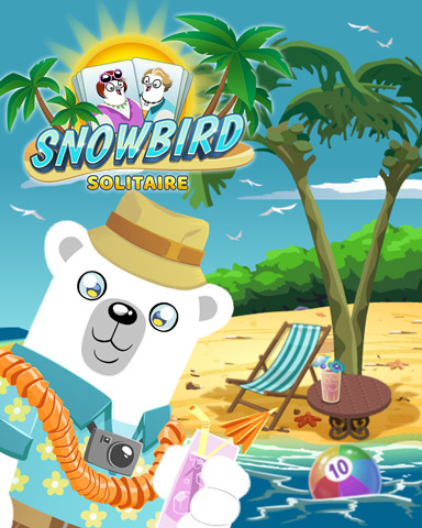 Bearnard's Break Badge - Snowbird Solitaire