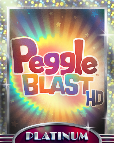 Welcome To Peggle Platinum Badge - Peggle Blast HD