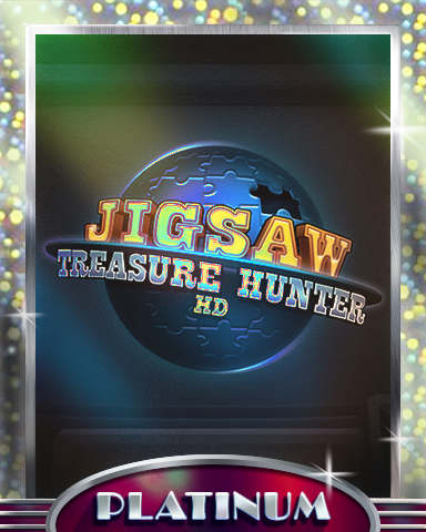 The Hunt Begins Platinum Badge - Jigsaw Treasure Hunter HD