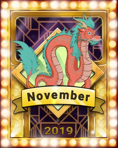 Pogo Dragon Dash Victory Badge