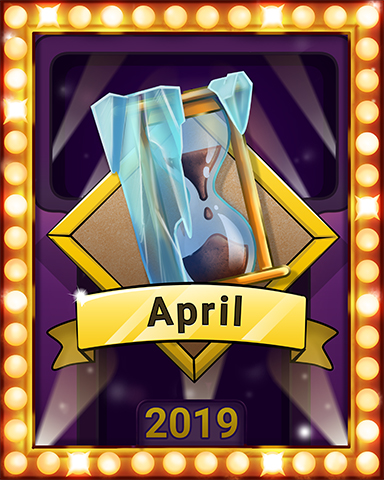 April Escape Lap 4 Badge - Mahjong Escape