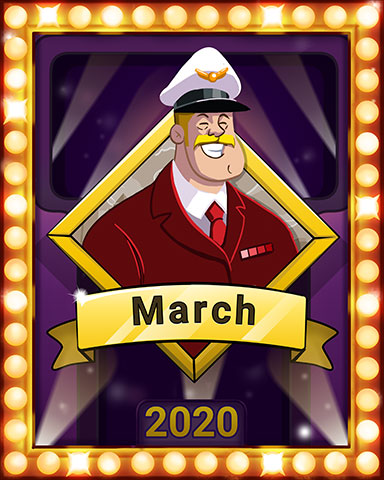 First Class Frolic Lap 4 Badge - First Class Solitaire HD