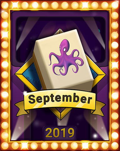 September Swim Lap 3 Badge - Quinn's Aquarium