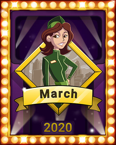 First Class Frolic Lap 2 Badge - First Class Solitaire HD