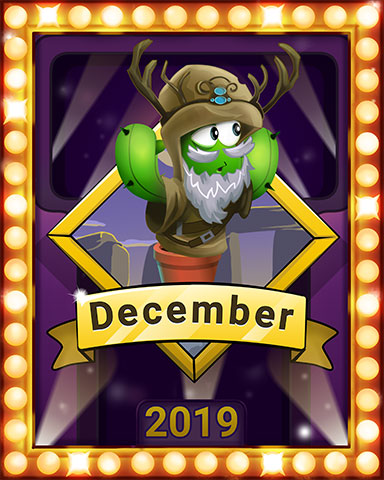 December Popathon Lap 1 Badge - Poppit! Bingo