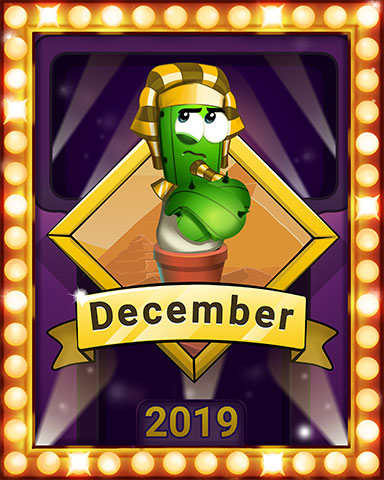 December Popathon Lap 2 Badge - Poppit! Bingo