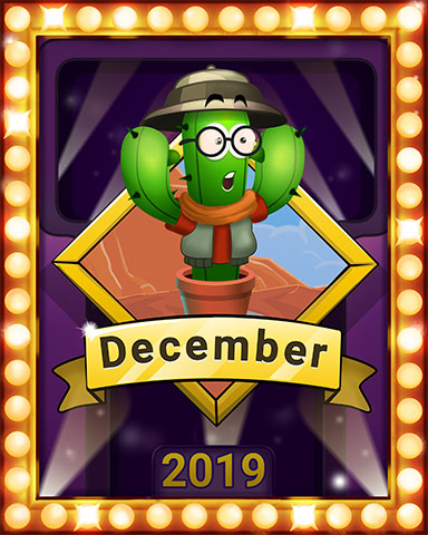 December Popathon Lap 3 Badge - Poppit! Bingo