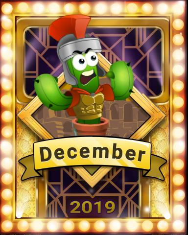 Pogo December Popathon Victory Badge