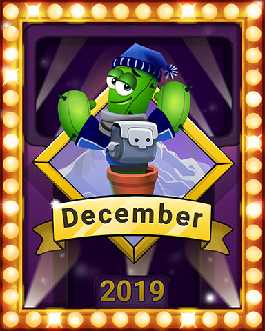 December Popathon Lap 4 Badge - Poppit! Bingo