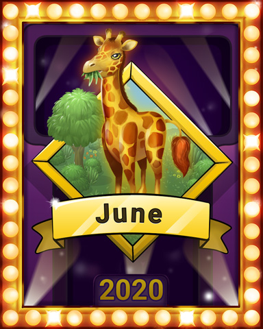 June Jaunt Lap 2 Badge - Mahjong Sanctuary