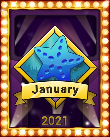 Quinn Swim Lap 1 Badge - Quinn's Aquarium