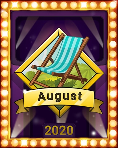 Summer Vacation Lap 2 Badge - Snowbird Solitaire
